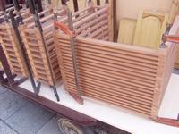 Drewniane prototypy mebli